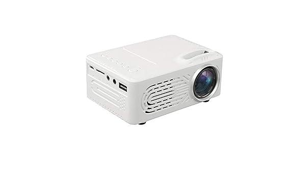 Xshuai - Mini proyector (7000 lúmenes, 3D, 1080p, Full HD, LED ...