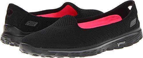 Skechers Performance Women's Go Walk 2 Axis Slip-On Walking Shoe,Black,6.5 M US
