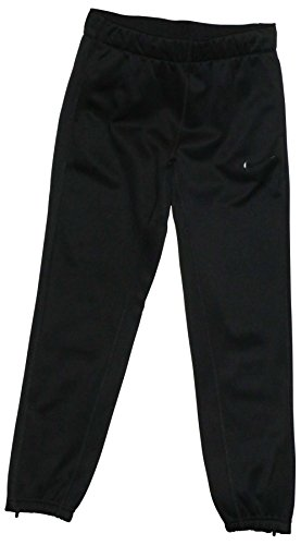 NIKE Big Girls' (7-16) Dri-Fit Therma Tech Training Pants-Black-Small