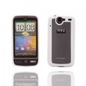 Double Color Protector Case for HTC Nexus One G5 White