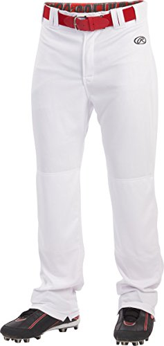 Rawlings Boy's Sporting Goods Boys Youth Launch Pant, White, Large