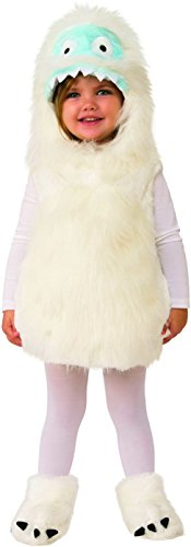 Abominable Snowman Costumes Amazon - Rubie's Kids Cute Yeti Toddler Costume,