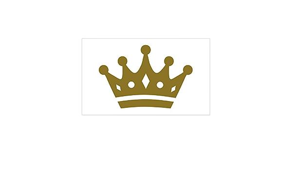 "/'/'SIZES/"" Dart Board Golden Crown Car Bumper Sticker Decal"