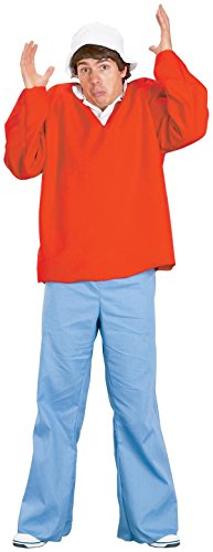 FunWorld Gilligan Island Costume, Red, One ()