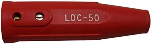Lenco 05437 LDC-50 Red Female Dinse Cable Connector