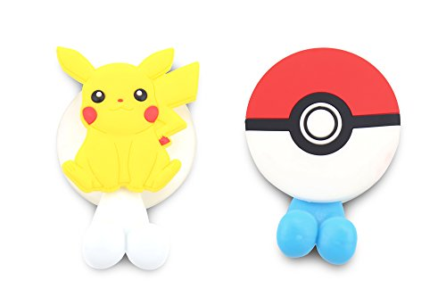 Finex® *Set of 2* Pokemon Ball Pikachu Toothbrush