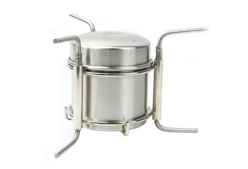 Out-d Stainless Steel Alcohol Stove Camping Stove 247g