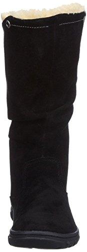 Lined Suede Fur Stellar Womens Boots Black Caterpillar Znqatx