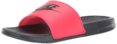 Nike Men's Benassi Just Do It Athletic Sandal, red orbit/black - anthracite, 8 Regular US by Nike (Image #10)