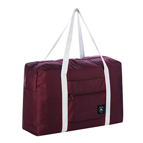Cathy Clara Large Travel Bag Waterproof Storage Bag Luggage Folding Handbag Shoulder Bag Storage Containers Packable Travel Duffel Bag