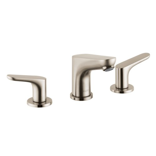 Hansgrohe 04369820 Focus E Widespread Faucet, Brushed Nickel
