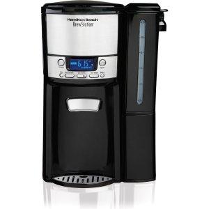 HAMILTON BEACH 47900 12 CUP PROGRAMMABLE BREWSTATION COFFEEMAKER