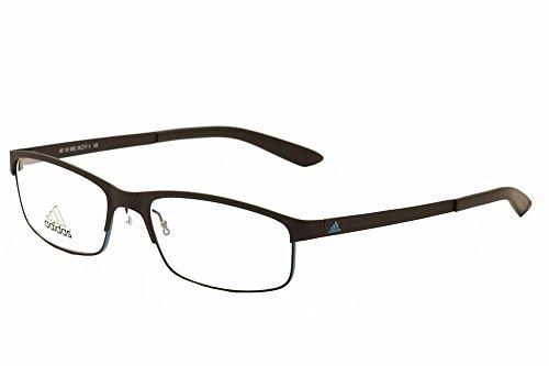 e3b56a1645 Adidas Eyeglasses AF51 AF 51 50 6062 Black Chill Blue Full Rim Optical  Frame 54mm