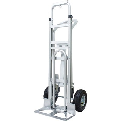 Roughneck Convertible 3-Position Hand/Platform Truck - Aluminum, 550-lb./770-Lb. Capacity by Roughneck