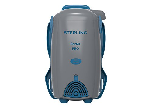 Sterling North America Porter Pro Backpack Vacuum Light Powerful with Hepa Filtration - Backpack Vacuum Commercial Hepa