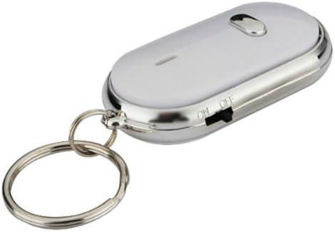 Amazon.com: Silbato buscador de llaves llavero sonido LED ...