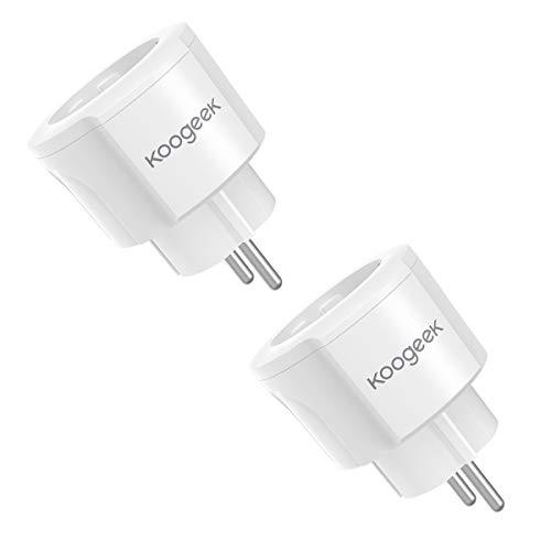 Koogeek Smart Plug  Intelligente Steckdose Alexa Wifi Steckdose (1 Pack)