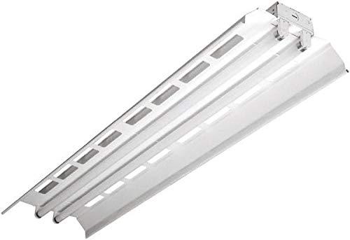 4 Lamps Cooper Lighting Low Bay Fixture Fluorescent 32 Watt