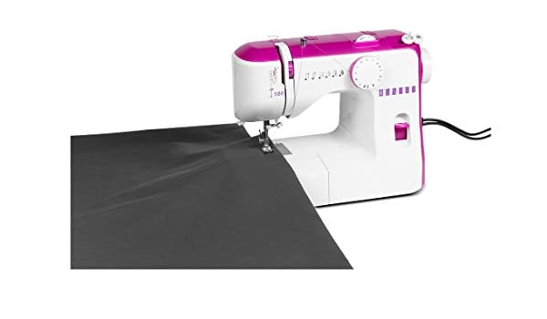 MEDION MD 15629 - Máquina de coser (Máquina de coser automática, Rosa, Blanco, Costura, Paso 4, 650 RPM, Eléctrico): Amazon.es: Hogar