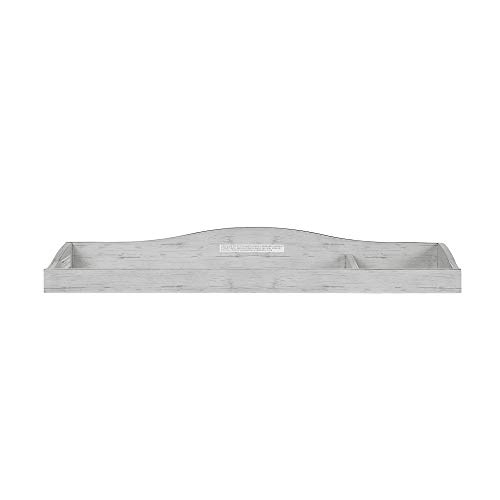 Evolur Fully Assembled Changing Tray, Antique Gray Mist