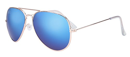 70% OFF Aviator Sunglass with Blue Chrome - Off Sunglasses 70