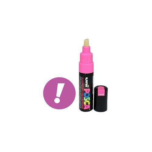 Uni-posca PC-85F Paint Marker Pen - Bold Point - Fluorescent Pink