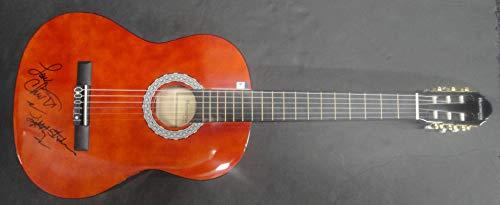 Lou Christie Hand Signed Autographed Acoustic Guitar Lightning Strikes GA 890154