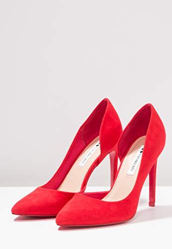 Sandali Alto Forma Alti A amp;odd Tacco Il Tacchi Appuntita Donna Rosso Da Eleganti Scarpe Even Spillo Con Chiusi wAPOaqaWn