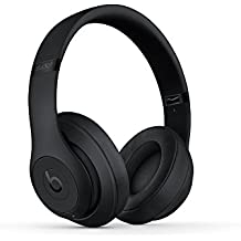 Beats Studio3 Wireless Headphones - Matte Black (Certified Refurbished)