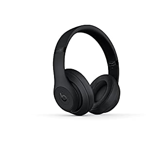 Beats Studio3 Wireless Headphones – Matte Black (Renewed)
