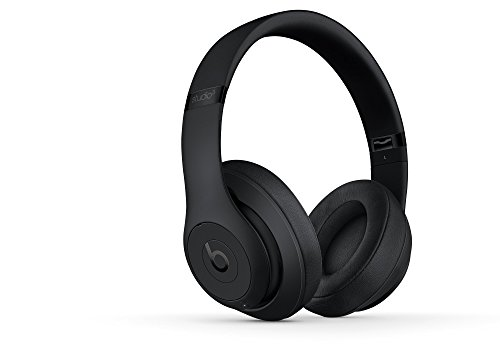 Beats Studio3 Wireless Headphones – Matte Black (Refurbished)