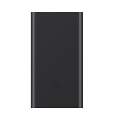 Original Xiaomi Ultra-thin 10000mAh Mobile Power Bank 2 - BLACK