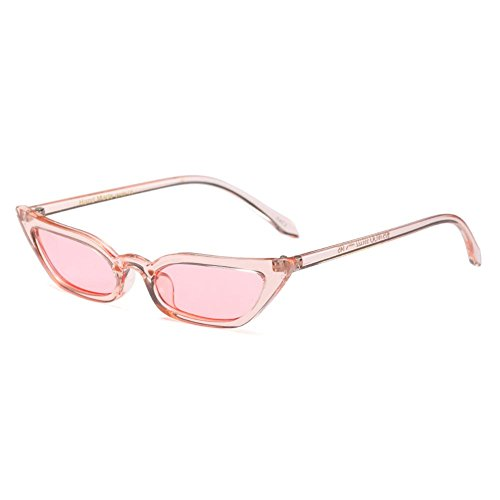 Espejo para de mujer Highdas marco transparente Sunglasses Cat Eye tono Sexy mujer C5 Colorido de 4w4UArHq