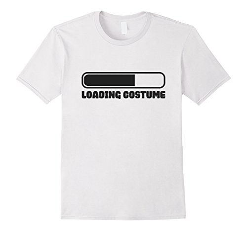Mens Loading Costume - IT Computer - 2017 Halloween Shirt XL (Office Halloween Costume Rules)