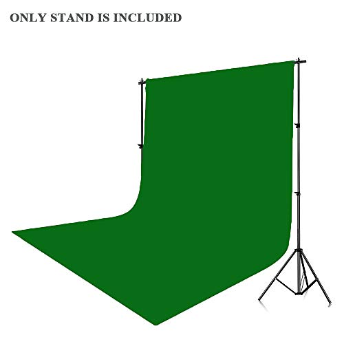 Kshioe Upgraded Background Stand,8.5ft-10ft Adjustable Heavy Duty Backdrop Support System Kit with Carry Bag for Photography Photo Video Studio, Photography Studio by Kshioe (Image #5)