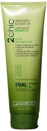 GIOVANNI Hair Care Products SHAMP,2CHIC,AVCDO&OLV Oil, 8.5 FZ