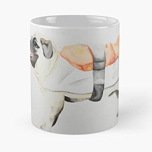 Sushi Sashimi Skull Pugs Gift Coffee/tea Ceramic Mug Father Day]()