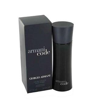 giorgio armani black code