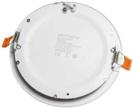 Alverlamp DL18PL40 - Led SMD Downlight Empotrable, redondo, 20w ...