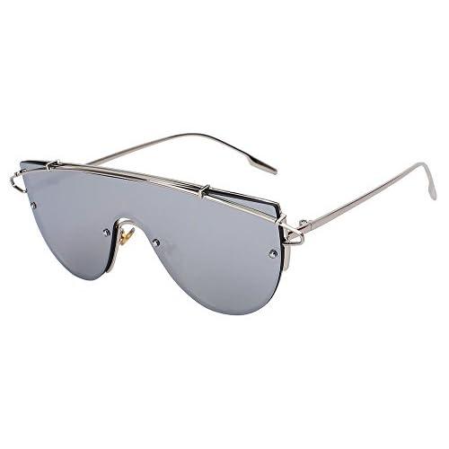 e7ee2a60c8 TIANLIANG04 Gafas de sol mujer sobredimensionado de Anteojos Retro Vintage  gafas de sol de verano estilo