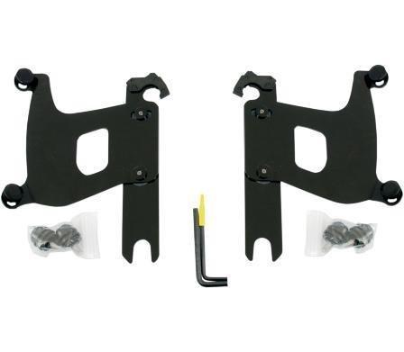 07-11 HARLEY VRSCDX: Memphis Shades Trigger-Lock Mounting Kit (Black/Bullet Fairing)