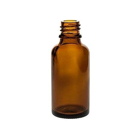 Viva-Haushaltswaren – 10 frascos cuentagotas de Vidrio, para Farmacia, Color marrón, Vidrio, marrón, 30 ml