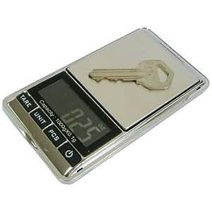 Satycon 0000080900399 - Mini bascula balanza peso digital precision 1k