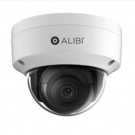 Alibi NS2014VR 4MP IP Dome Camera with 120FT IR and Starlight Low Light Vision by Alibi