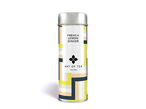 French Lemon Ginger Tisane Tea