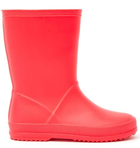 c66943f36350f  MOFEVER  キッズ レインブーツ PVC 子供用 無地 雨靴 男の子 女の子 長靴 レインシューズ