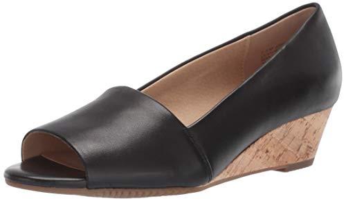 - Aerosoles Women's Application Pump Black Leather 11 M US