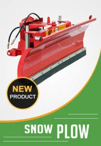 SP-220 Snow Plow for Skid Steer front mounting