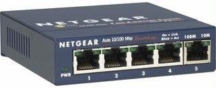 100base Tx Lan Sensing Auto - FS105NA - Netgear ProSafe FS105 Ethernet Switch 5 x 10/100Base-TX (FBA_FS105NA)