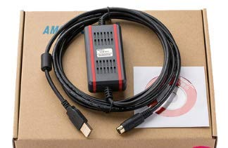USB-XC+FTID Black Isolated for Xinjie XC Series PLC Programming Cable//Data Download Cable USB-XC Communication line